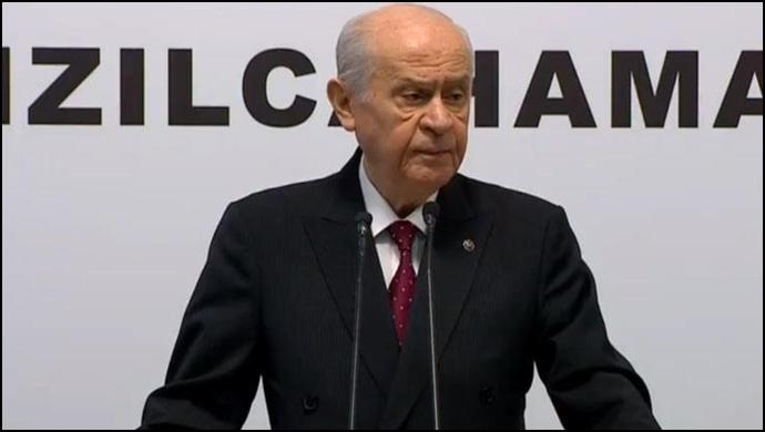 Bahçeli: İstanbul'da seçimin tekrarı çözüm olarak düşünülebilir