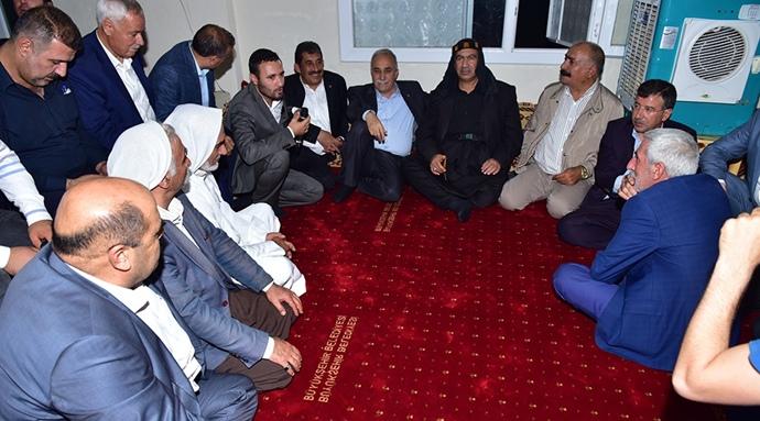 Bakan Fakıbaba Ceylanpınar'a Çıkarma Yaptı