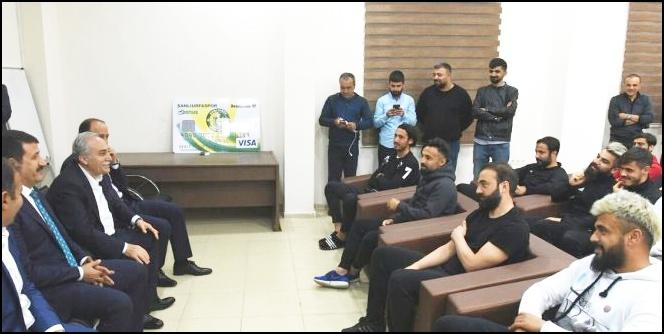 Bakan Fakıbaba'dan Urfaspor'a Destek Sözü