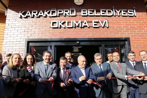 Bakan Fakıbaba,Esentepe Okuma Salonunun Açılışını Yaptı