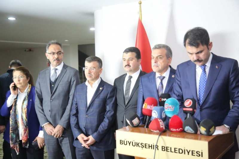 Bakan Kurum'dan Eyyubiye'ye Müjde Üstüne Müjde