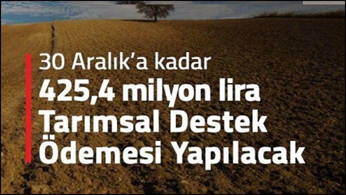 Bakan Pakdemirli'den Tarımsal Destek Ödemeleri Müjdesi !