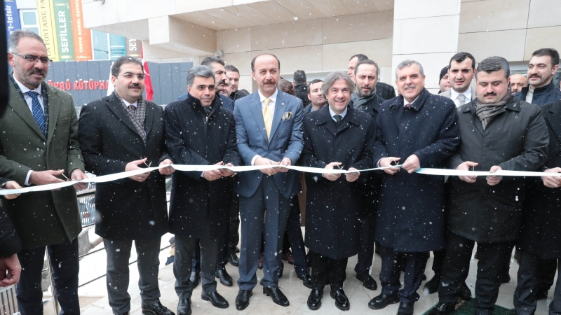 Bakan Yardımcısı Demircan'ın Çocuk Kütüphanesinin Açılışına Katıldı-(VİDEO)