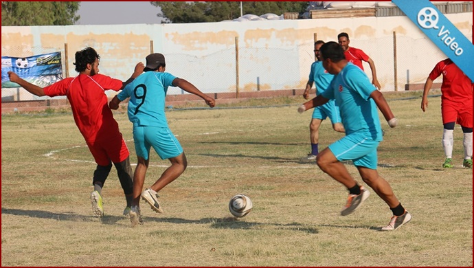 Barış Pınarı'nda Futbol Turnuvası düzenlendi