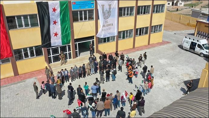 Barış Pınarında İki Okul Daha Hayırseverlerin Desteğiyle Onarıldı