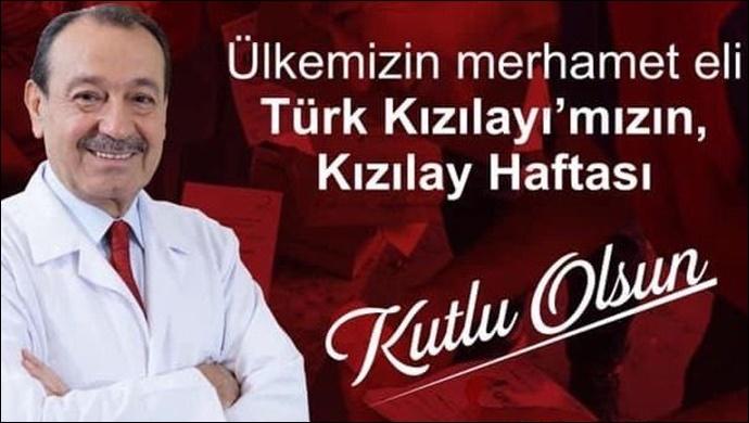 Başkan Ahmet İnan, Kızılay Haftasını kutladı