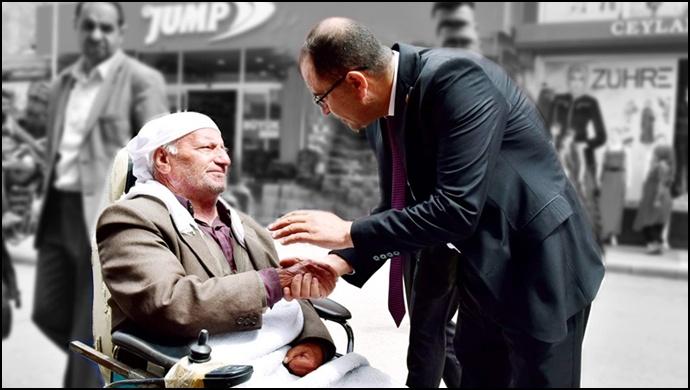 Başkan Aksak'tan Dünya Engelliler Haftası mesajı