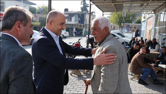 Başkan Aksoy, Bozova Halkı İle İç İçe..