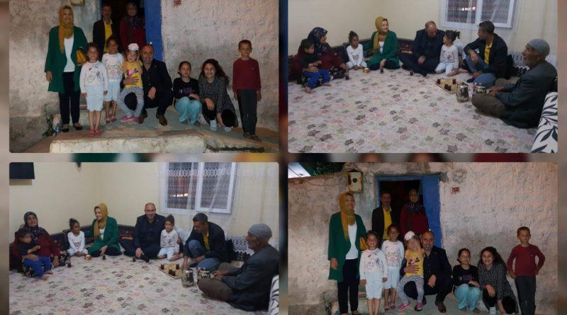 Başkan Aksoy, Çat Kapı İftar Sofrasında