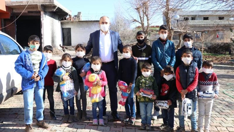 Başkan Aksoy kırsal mahalle ziyaretlerine devam ediyor