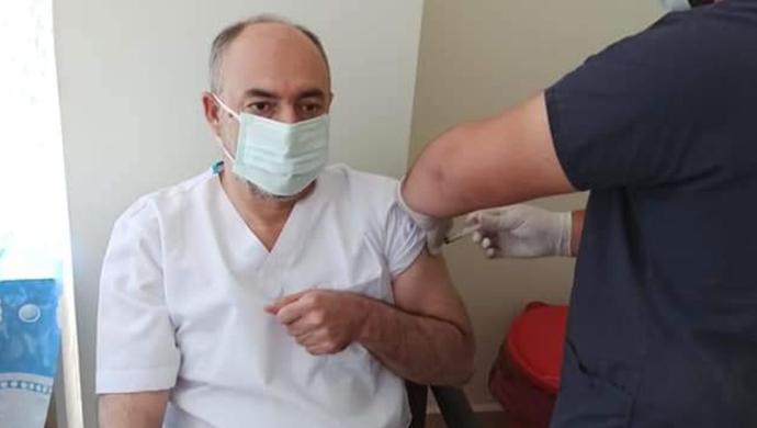 Başkan Aksoy, vatandaşları aşı olmaya davet etti