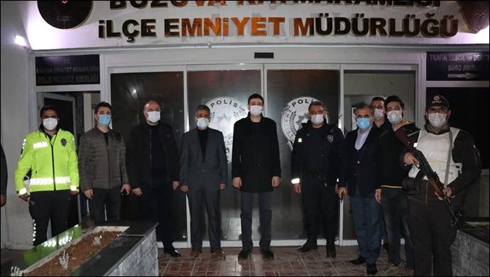Başkan Aksoy yeni yıla ilk onlarla girdi