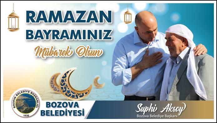 Başkan Aksoy'dan Ramazan Bayramı mesajı