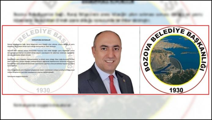 Başkan Aksoy'dan Taktir Edilecek Davranış