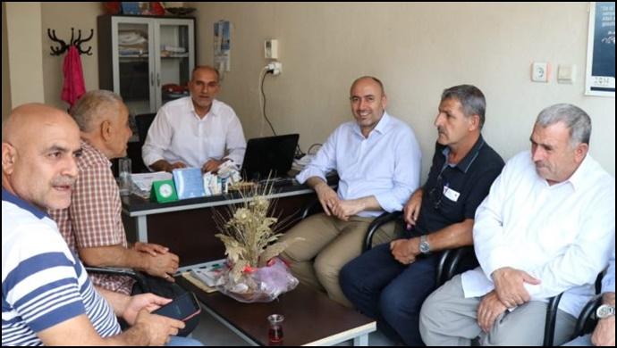 Başkan Aksoy,Muhtarların İstek Ve Taleplerini Dinledi