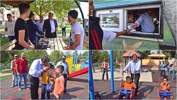 Başkan Atilla, Vaktini Gençlere Ayırdı