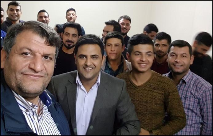 Başkan Ayhan Gençlerle Genç Olmaya Geldim Dedi