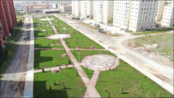 """Başkan baydilli: """"ilçeye modern parklar kazandırıyoruz""""-(VİDEO)"""