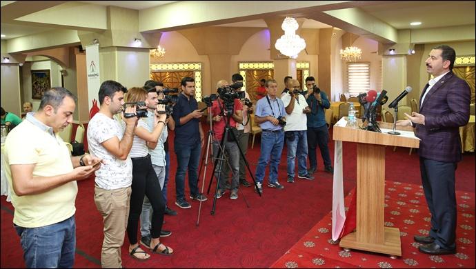 Başkan Baydilli'den Çalışan Gazeteciler Günü Mesajı