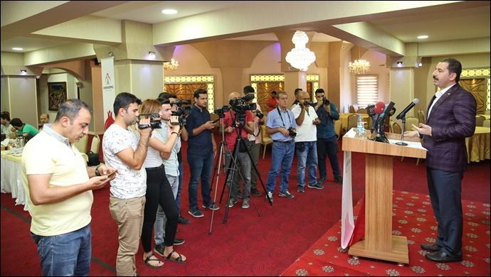 Başkan Baydilli'den Gazeteciler Ve Basın Bayramı Mesajı