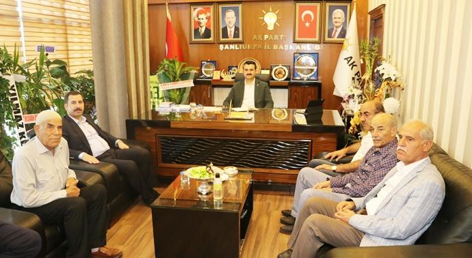 Başkan Baydilli'den İl Başkanı Yıldız'a Hayırlı Olsun Ziyareti