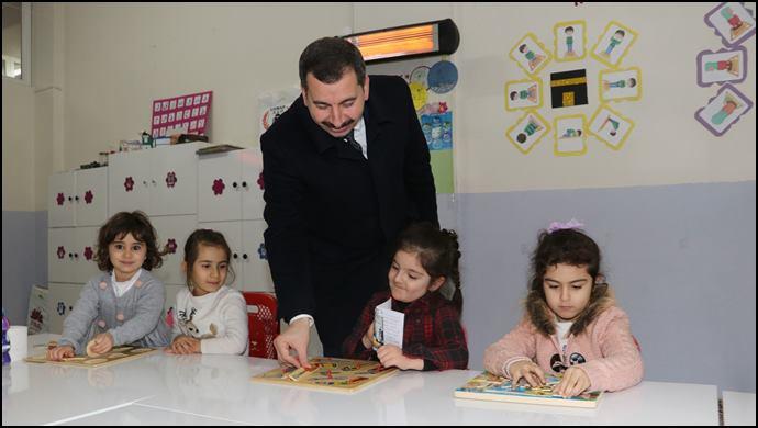 Başkan Baydilli'den Kuran Kursuna Ziyaret-(VİDEOLU)