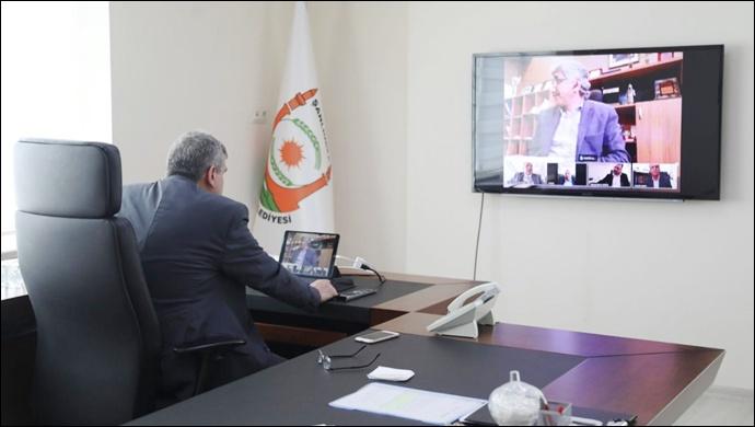 Başkan Beyazgül'den interaktif toplantı