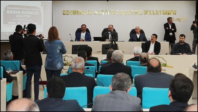 Başkan Çiftçi: Büyükşehir Meclisini Tarih Altın Harflerle Yazacak