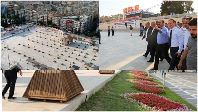 Başkan Çiftçi: Urfa'mıza Yakışır Bir Meydan Oldu