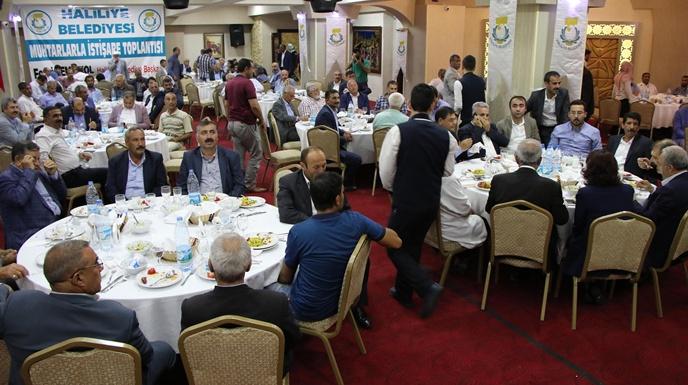 Başkan Demirkol, 24 Haziran Seçimleri İçin Muhtarlardan Destek İstedi