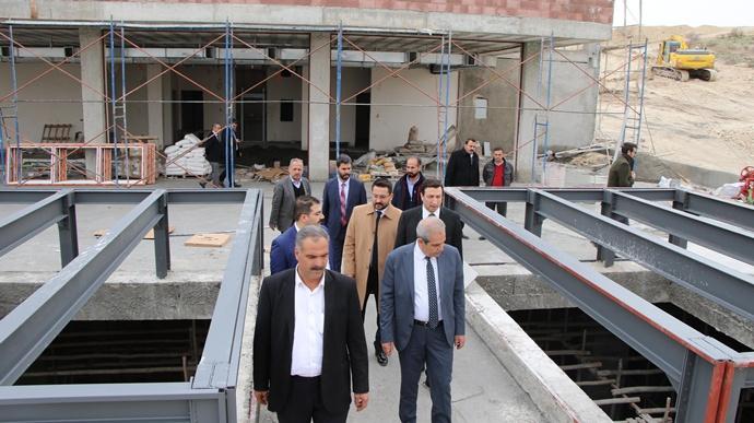 Başkan Demirkol, Devteşti'ndeki Projeleri Yerinde İnceledi