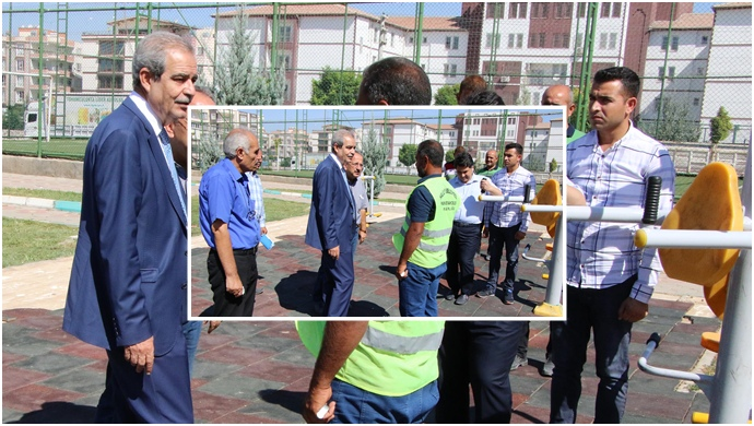 Başkan Demirkol, İmam Bakır Mahallesinde Çalışmaları Denetledi