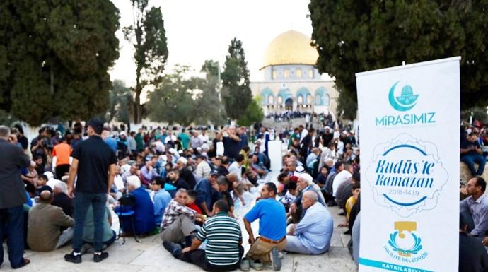 Başkan Demirkol, Kudüs'teki Müslümanların Yanında Oldu