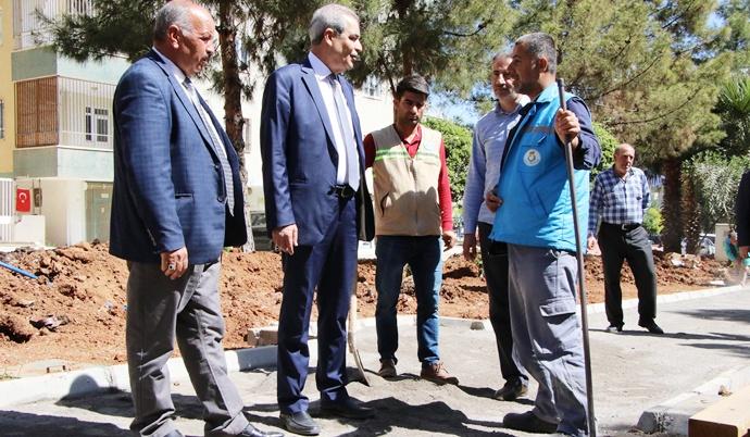 Başkan Demirkol, Park Yenileme Çalışmalarını Yerinde İnceledi