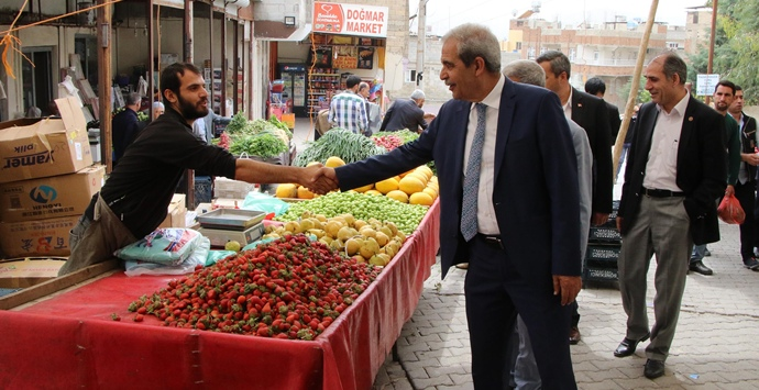 Başkan Demirkol, Yavuz Selim Mahallesinde Esnafla Buluştu