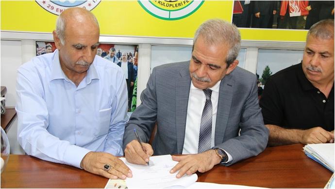 Başkan Demirkol'dan Amatör Spor Kulüplerine Destek