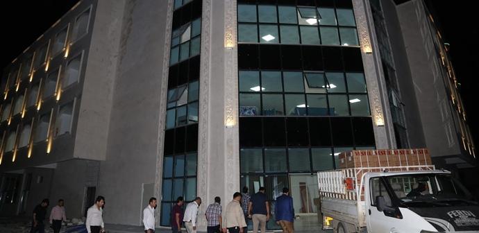 Başkan ekinci devasa tesisi inceledi.