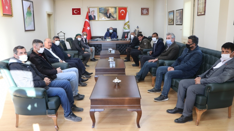 Başkan Ekinci Vatandaşlarla Dinledı