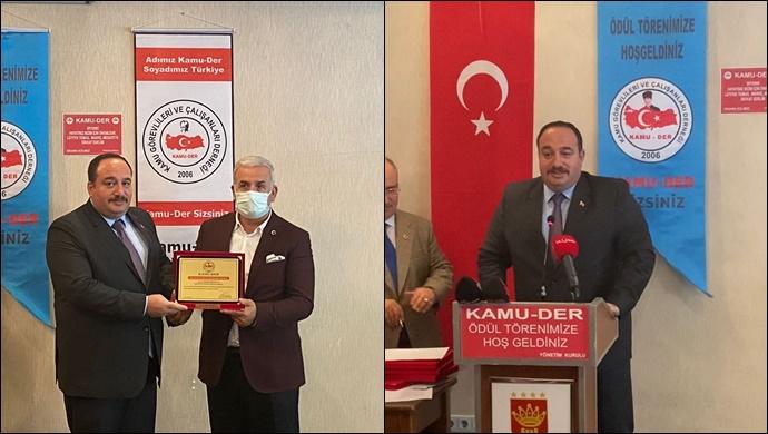 Başkan Ekinci, Yılın Belediye Başkanı seçildi