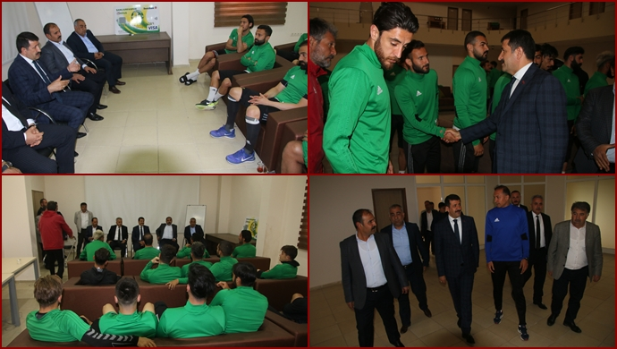 Başkan Ekinci'den Urfaspor'a destek