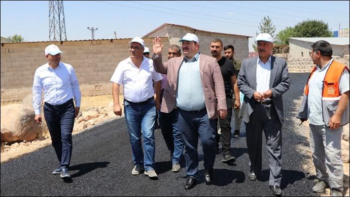 Başkan Ekinci,Gözlek Mahallesi'nde devam eden çalışmaları inceledi