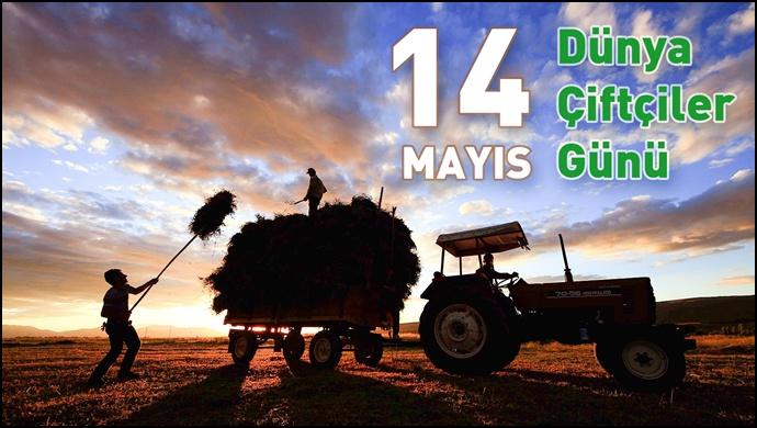 Başkan Eyyüpoğlu Dünya Çiftçiler Gününü Kutladı