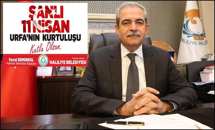 Başkan Fevzi Demirkol'un 11 Nisan Mesajı
