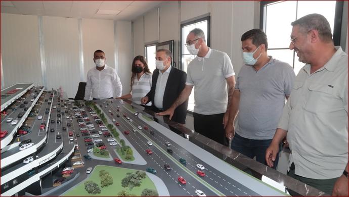 Başkan Kuş, Devasa Projeyi Yerinde İnceledi-(VİDEO)