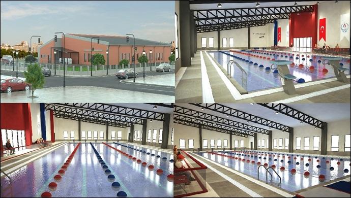 Başkan kuş müjdeyi verdi: Yarı olimpik yüzme havuzu yapılıyor.