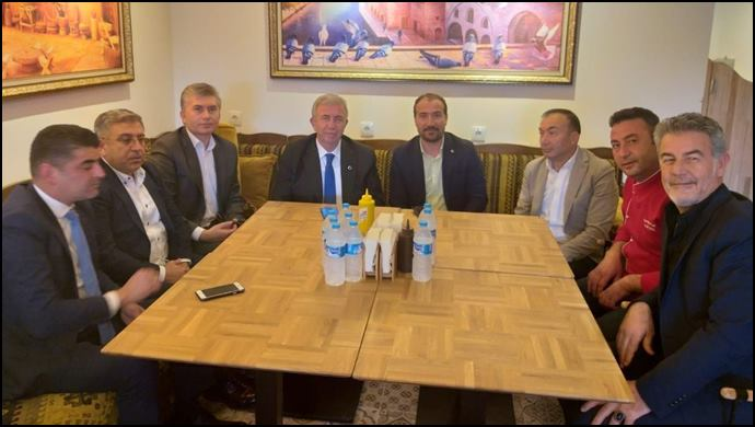 Başkan Mansur Yavaş'tan, Mustafa Sarı'ya Ziyaret