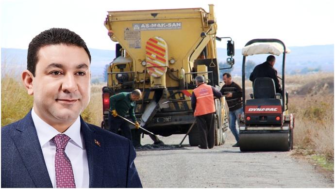 Başkan Özyavuz 26 Mahallede Yol Onarım Çalışmasını Başlattı