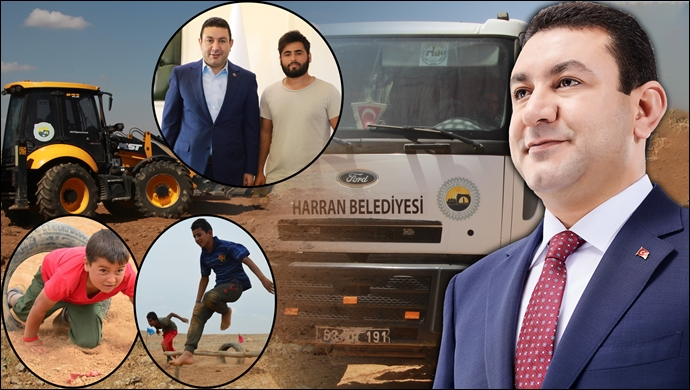Başkan Özyavuz, Harranlı Gençlerin Talebini Yerine Getiriyor-(VİDEO)