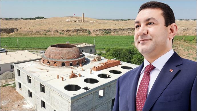 """Başkan özyavuz: """"yükselen camilerimiz olsun""""-(VİDEO)"""