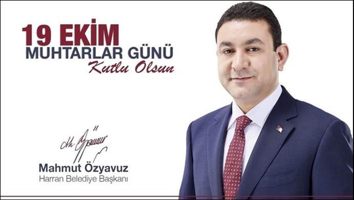 Başkan Özyavuz'dan Muhtarlar Günü Mesajı